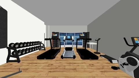indoor gym  - by Dakota Sadler