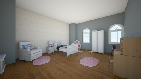 girl room - Classic - Kids room  - by armut54