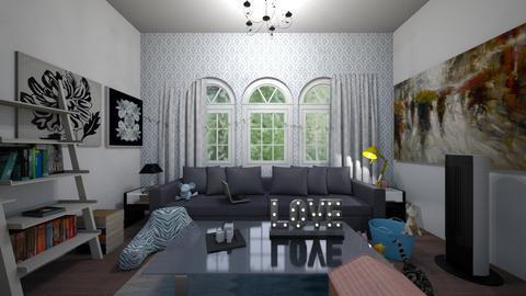 Rainy Day Livingroom - Classic - Living room  - by LivStyles09