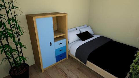 Jauniesa istaba - Bedroom  - by Rsampins