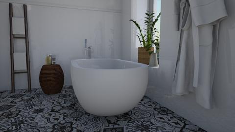 Serene - Bathroom - by Tuija