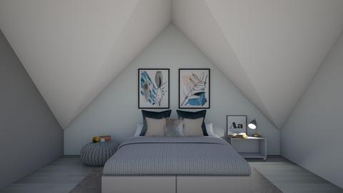 Attic Retreat - Bedroom  - by 021snoopy205