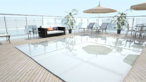 beach patio - Modern - by designer2001