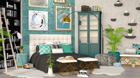 Maxed Out - Eclectic - Bedroom  - by millerfam