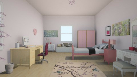 spring <3 - Country - Bedroom  - by nisrin