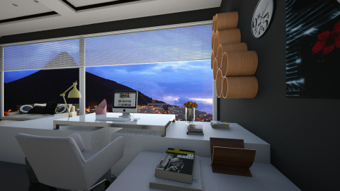 work villa  - Modern - Office - by Nhezi