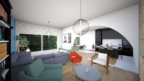 Living Room 3 - Living room  - by Marion_