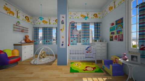 Welcome Baby - Kids room  - by mjabres