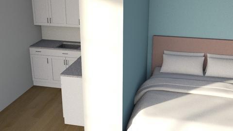 Split - Modern - Bedroom  - by kitacat