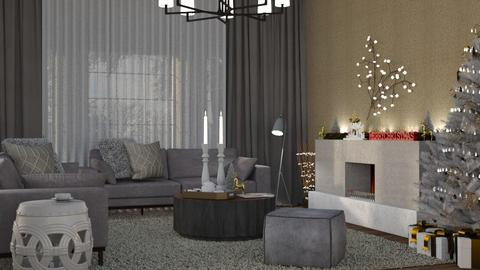 The Golden Morning - Modern - Living room  - by Claudia Correia