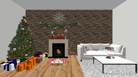 xmas room - Living room  - by ainaelvira6