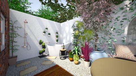 Outdoor Bath - Garden - by shyster
