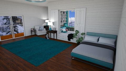 My Hidden Haven - Bedroom - by mydreamjob25