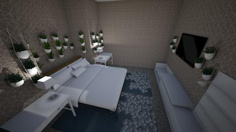 plans - Bedroom  - by kitten paw