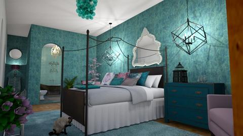 T M Bed Bath - Classic - Bedroom  - by Buffy7