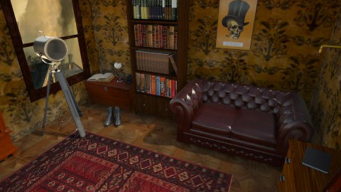 steampunk - Living room - by fairydust774