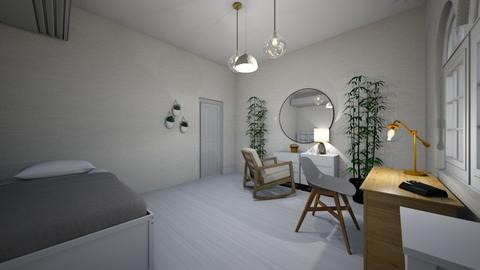 bed room for one - Modern - Bedroom  - by alexa0921