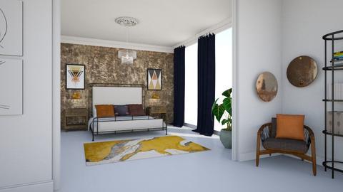 Modern Tenement Bedroom - by DagnyL