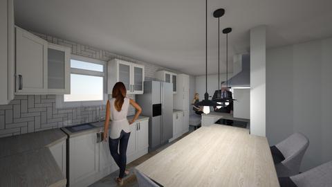 SWITCH Sink and Fridge   - Kitchen  - by maggiehall