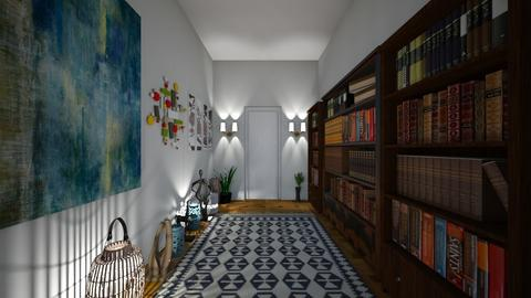 Hallway of books - by lusfale