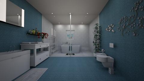 Open Space Bathroom - Bathroom  - by Elpinicky