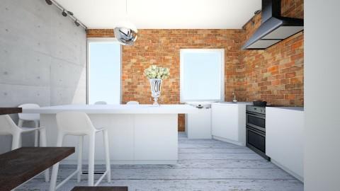 j - Retro - Kitchen  - by ewcia11115555