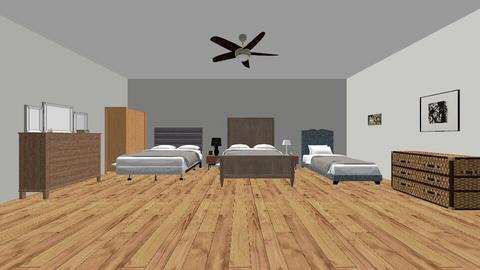 three bears bedroom - Bedroom  - by Almeda
