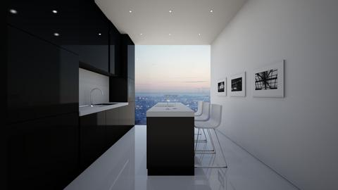NY Kitchen - Minimal - Kitchen  - by deleted_1579788939_athinastegr