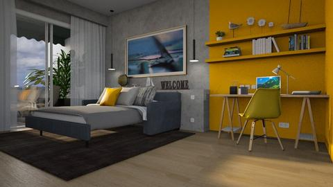 The Guest Room - Modern - Bedroom  - by Claudia Correia