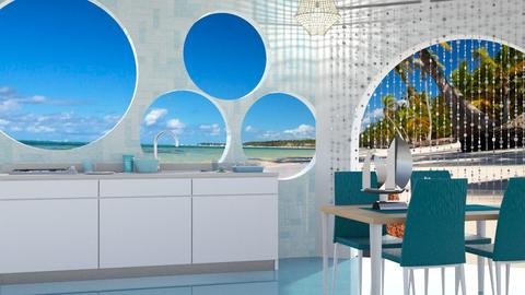 Ocean kitchen - by Nari31