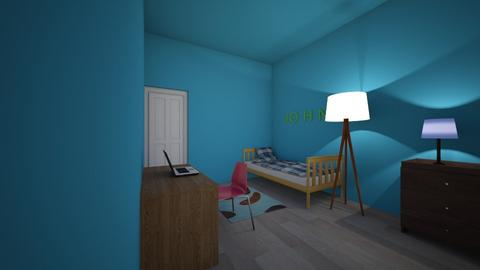 Fam Home Bedroom 2 - Kids room - by ibuildroomsanddorms