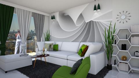 trawka - Living room  - by ewcia3666