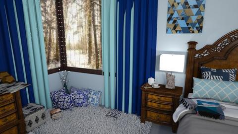 winter light  - Bedroom  - by Karen Priest