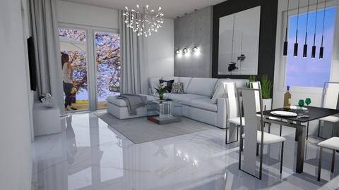matczyn1 - Living room  - by ewcia3666