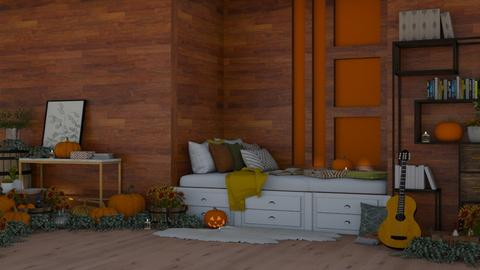 fall bedroom - Bedroom  - by deleted_1605324543_i123qwerty