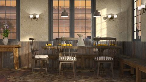 Country Pancake House - Dining room  - by GraceKathryn