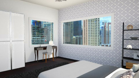 City - Bedroom - by Rose Marie