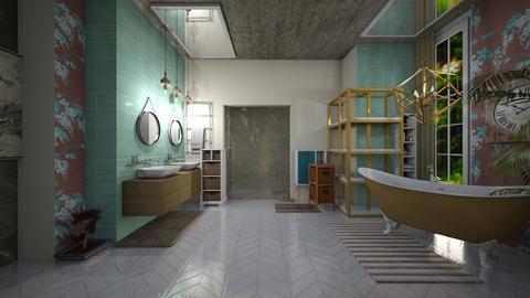 T_Copper Bath - Bathroom - by Creativity_Lane