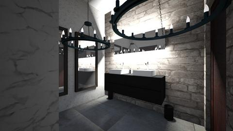 office bathroom - Bathroom  - by leyaaa