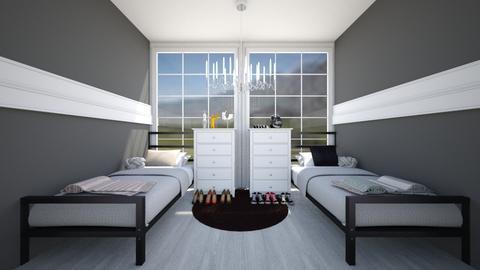 Modern Bedroom - Modern - Bedroom - by Chicken202