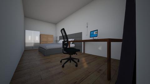 MI HABITACION - Bedroom  - by DIDACGF