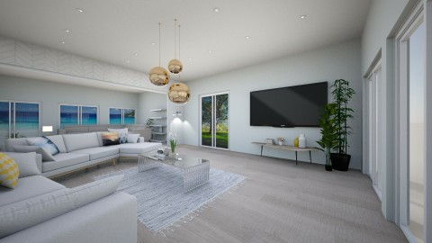 tv lounge - by melon_grape