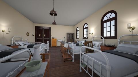 Victorian Hospital Ward - Vintage - by PeculiarLeah