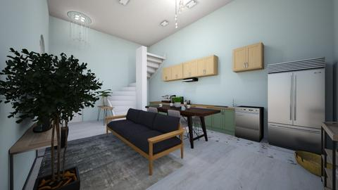Loft style apartment - Modern - Living room  - by twagner