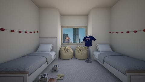 Twins Room - Bedroom  - by ksandy