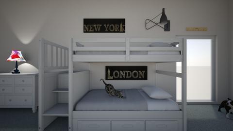 Childs room - Modern - Kids room  - by Jkcolver