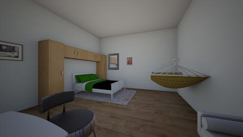 kids greek bedroom  - Kids room  - by unicornartlover