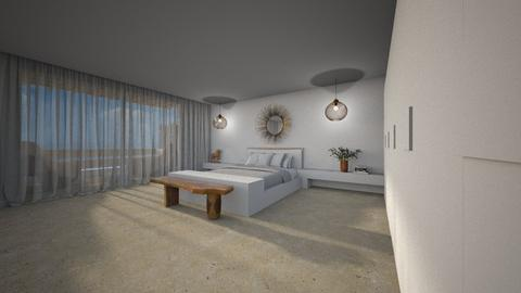 Paros - Minimal - Bedroom  - by Claudia Correia