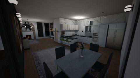 kitchen of apartment - Kitchen - by eWrighT36
