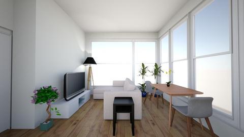 living room 85_5 sofa - Living room  - by wynzennir